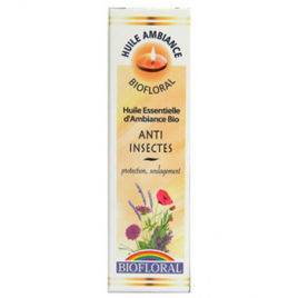 Biofloral Huile d'ambiance Anti insectes 10ml Biofloral Synergie huiles essentielles Bio Onaturel.fr