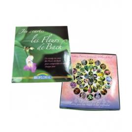 Biofloral Jeu de 40 cartes Les Fleurs de Bach Biofloral Elixirs floraux - Dr Bach Onaturel.fr