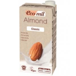 Ecomil Lait Amandes Classic Bio 1L Ecomil Boissons Bio Onaturel.fr
