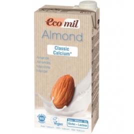 Ecomil Lait Amandes Classic Calcium Bio 1L Ecomil Boissons Bio Onaturel.fr
