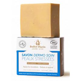 Ballot Flurin Savon Miels Blancs de nos Campagnes 100g Ballot Flurin Soins du visage Bio Onaturel.fr