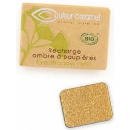 Couleur Caramel Recharge Ombre à paupières n°109 feuille d'or nacrée 1.3g Couleur Caramel fards à paupières bio - ombre et cr...