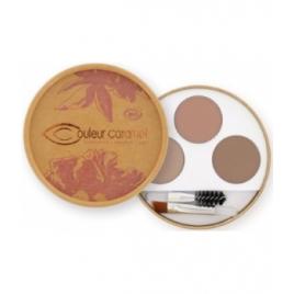 Couleur Caramel Kit sourcils Blondes 40g Couleur Caramel Yeux bio Onaturel.fr