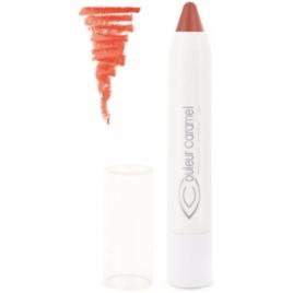 Couleur Caramel Twist and lips n°402 Beige abricoté Couleur Caramel Rouges à levres bio - gloss et crayons à lèvres Onaturel.fr
