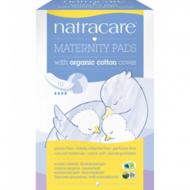Natracare 10 serviettes Post maternité Natracare Categorie temp Onaturel.fr