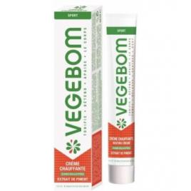 Vegebom Crème Chauffante Tube 40ml Vegebom Accueil Onaturel.fr