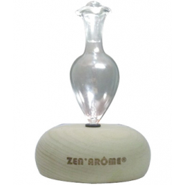 Zen Arôme Diffuseur d'huiles essentielles électrique Bao avec fonction timer et lumière LED Onaturel
