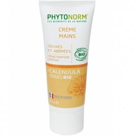 Phytonorm Crème douceur mains nourrit NON GRASSE au Souci 50ml Phytonorm Categorie temp Onaturel.fr