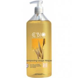 C'bio Shampooing usage fréquent Miel Calendula Avoine 500ml C'bio