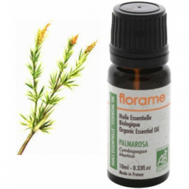 Florame Huile essentielle bio Palmarosa 10ml Florame Huiles essentielles Onaturel.fr