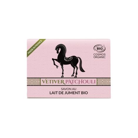C'bio Savon au lait de jument HE Vetivier Patchouli 100g C'bio Savons Bio et Naturels Onaturel.fr