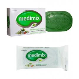 Lot Savons Medimix Ayurvédiques 18 plantes 125gr + 12gr Medimix Cholayil Accueil Onaturel.fr