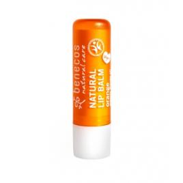 Benecos Baume à lèvres Orange 4g Benecos Soins des lèvres Bio Onaturel.fr