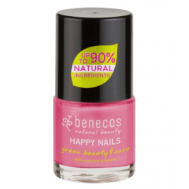 Benecos Vernis à Ongles Pink forever 9ml Benecos Vernis à ongles bio Onaturel.fr