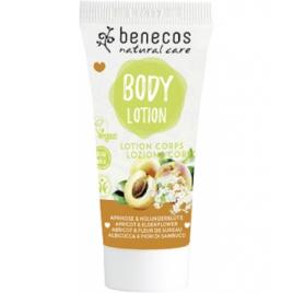 Benecos Mini lotion corps abricot et fleur de sureau 30ml Benecos Soins du corps Bio Onaturel.fr