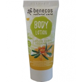 Benecos Mini lotion corps argousier et orange 30ml Benecos