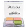 Benecos Correcteur de teint 4 couleurs Benecos Teint bio Onaturel.fr