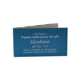 Dr.Theiss Papier indicateur pH urinaire Carnet de 52 tests Dr.Theiss Confort Urinaire Onaturel.fr
