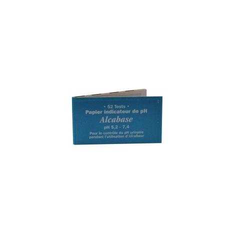 Dr.Theiss Papier indicateur pH urinaire Carnet de 52 tests