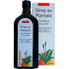 Sirop au plantain, à la mélasse et au miel 250ml Dr.Theiss Dr.Theiss Rhume- Gorge-Bronches- Nez Onaturel.fr