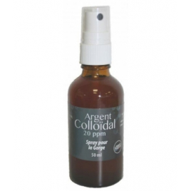 Spray Gorge Argent Colloïdal 20 ppm Dr.Theiss