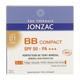 Eau Thermale Jonzac BB Compact Solaire 01 Clair SPF50 12g Eau Thermale Jonzac Teint bio Onaturel.fr