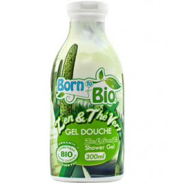 Born To Bio Gel douche Zen et Thé Vert 300ml Born To Bio Gels douche - bains moussants Onaturel.fr