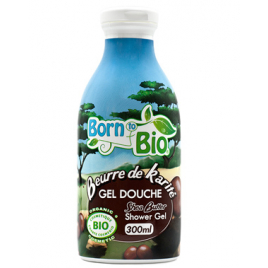 Born To Bio Gel douche Beurre de Karité 300ml Born To Bio Accueil Onaturel.fr