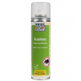 Aries Spray Anti Acariens 200 ml Aries Anti-mites / Anti-moustiques / Anti-insectes Onaturel.fr