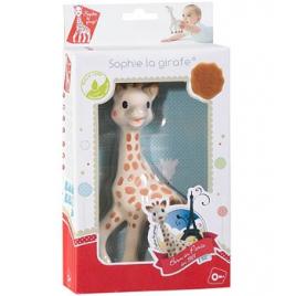 Vulli Sophie la girafe en boite cadeau en caoutchouc naturel Vulli Accueil Onaturel.fr