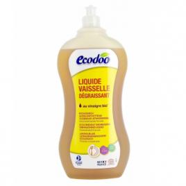 Liquide vaisselle ultra dégraissant Menthe et au Vinaigre 1L Ecodoo Vaisselle Bio Onaturel.fr