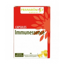 Pranarôm Immunessence Bio 30 capsules Pranarôm Accueil Onaturel.fr