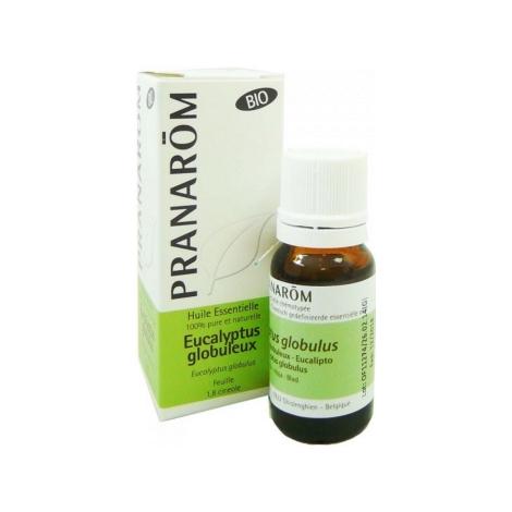 Pranarôm Eucalyptus globuleux Bio Flacon compte gouttes 10ml Pranarôm Accueil Onaturel.fr