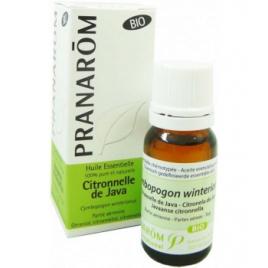 Pranarôm Citronnelle de Java Flacon compte gouttes 10ml