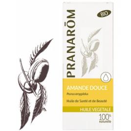 Pranarôm Huile végétale d'Amande douce Flacon verre 50ml Pranarôm Accueil Onaturel.fr
