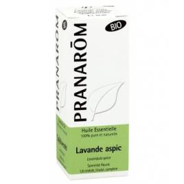 Pranarôm Lavande Aspic Bio Flacon compte gouttes 10ml Pranarôm