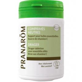 30 comprimés support pour huiles essentielles Pranarôm Pranarôm Accueil Onaturel.fr