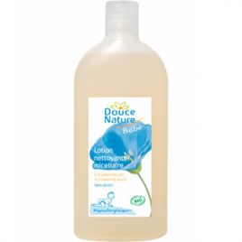 Douce Nature Lotion nettoyante Camomille Amande douce sans rinçage 300ml Douce Nature Soins du corps Bio Onaturel.fr