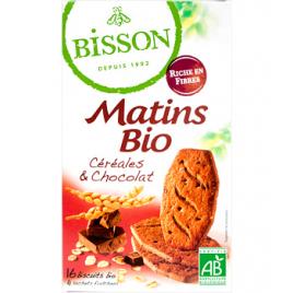 Bisson Matin bio Céréales et Chocolat 200g Bisson Céréales chocolat Bio Onaturel.fr