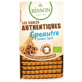 Bisson Biscuits sablés les authentiques Epeautre 175g Bisson Biscuits Bio Onaturel.fr