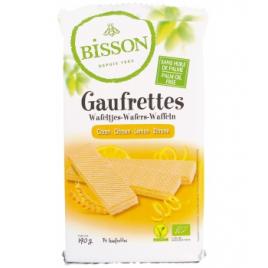 Bisson Gaufrettes citron 190g Bisson