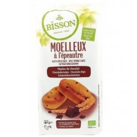 Bisson Moelleux à l'épeautre pépites de chocolat 180g Bisson Goûter / Confiserie Onaturel.fr