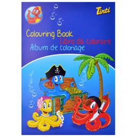 Tinti Livre de coloriage Tinti Accueil Onaturel.fr