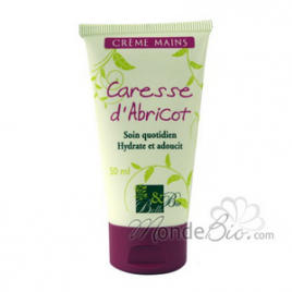 Belle et Bio Crème Mains Caresse d'abricot 50ml Belle et Bio Soins des mains Bio Onaturel.fr