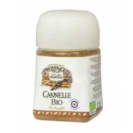 Provence D Antan Cannelle bio poudre pot végétal biodégradable 25g