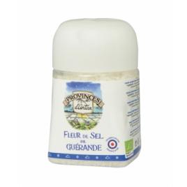 Provence D Antan Fleur de Sel de Guérande pot végétal biodégradable 70g Provence D Antan Accueil Onaturel.fr