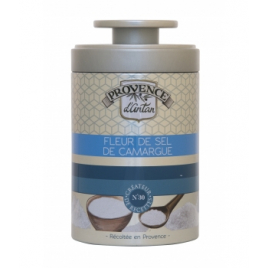 Provence D Antan Fleur de sel de Camargue boîte métal 90g