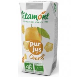 Vitamont Tétra pur Jus d'Orange 25 cl Vitamont Accueil Onaturel.fr