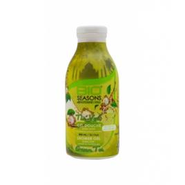 Bio Seasons Gel douche Thé vert 300ml Bio Seasons Gels douche - bains moussants Onaturel.fr
