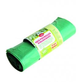 Droguerie Ecologique Rouleau de 10 sacs poubelle de 100 Litres Droguerie Ecologique Accueil Onaturel.fr